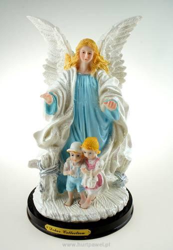 Figura Dekoracyjna Anioł Niebieski